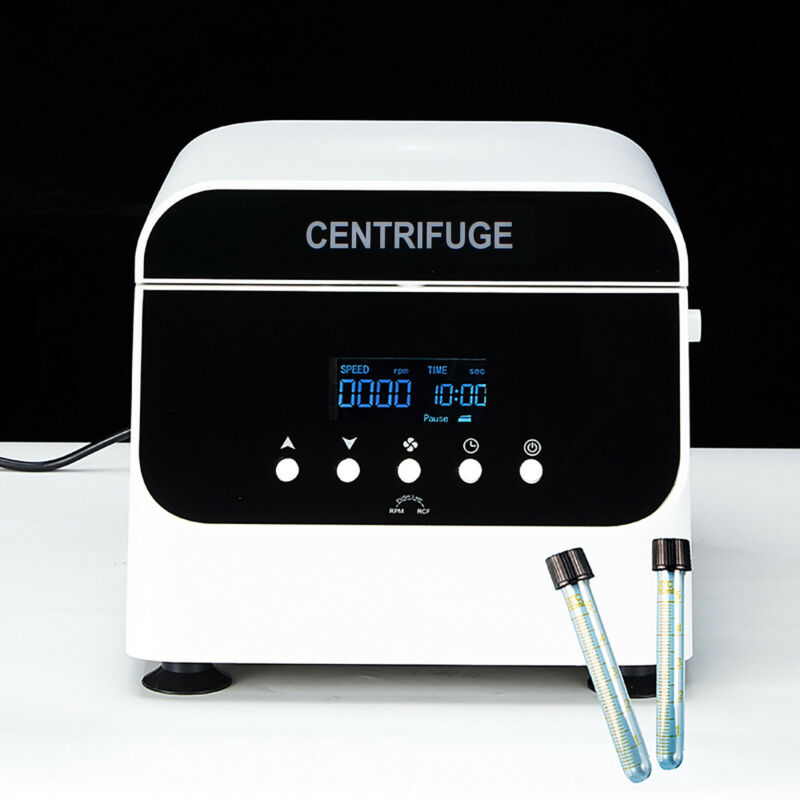 Digital Medical Lab Centrifuge 12*15ml PRP Plasma Filler Blood Centrifuge Machin