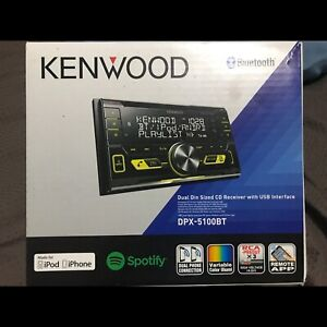 Kenwood double din DPX-5100BT