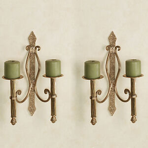 Brass Candle Sconces | eBay