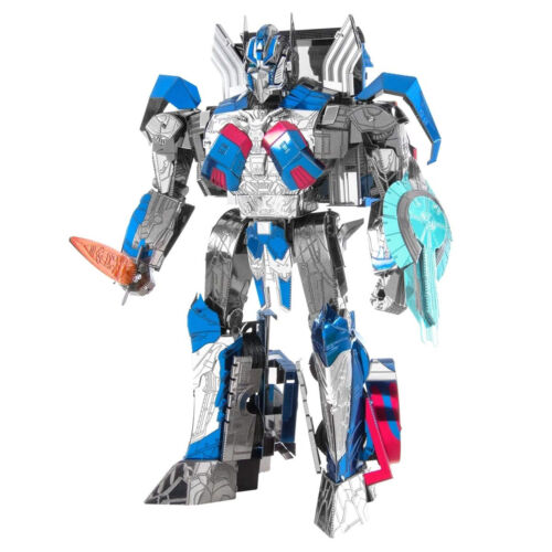 Metal Earth Iconx Transformers Last Knight Optimus Prime Steel Model Kit NEW