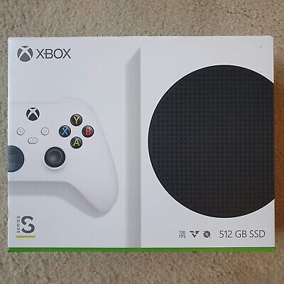 Microsoft Xbox Series S 512GB Game Console White NEW SEALED local pickup avail