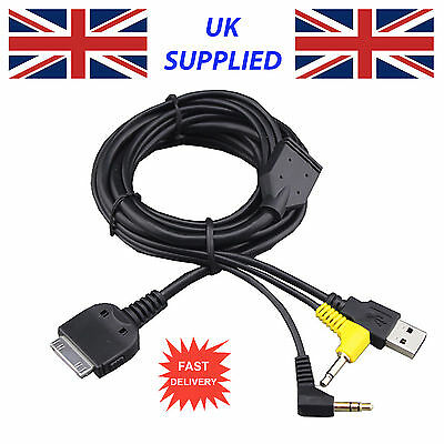 Latest for KENWOOD KCA-IP300V IPOD IPHONE Cable for DDX8019 cable Replacement