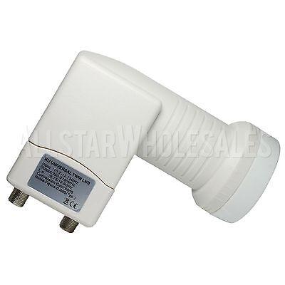 MX-KT22C OEM Universal, Ku Band, Twin/Dual Linear LNB FTA Satellite Dish 0.3dB