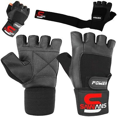 Gym Workout Best Weight Lifting Body Building Fitness Training Gloves with