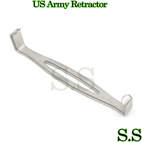 US Army Navy Retractor Veterinary Double Ended Instruments Set of 2 Pcs