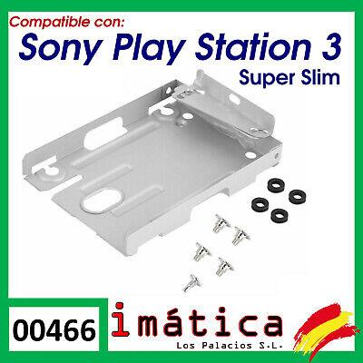 ADAPTADOR DISCO DURO PLAYSTATION 3 PS3 SUPER SLIM CECH-400X CADDY SOPORTE 2,5...
