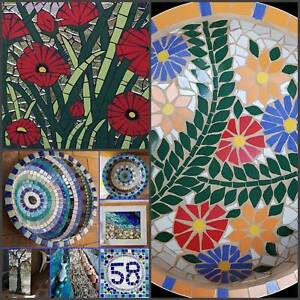 Mosaic Classes Thursday & Saturday mornings in Cooroy