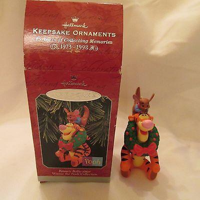 1998 Hallmark Keepsake Ornament Bouncy Baby-Sitter Winnie the Pooh