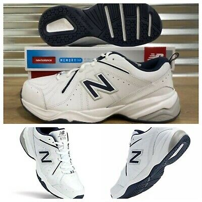 Men's NEW BALANCE 619 Training Walking Shoes Sneakers WHITE Size 13 X-Wide 4E