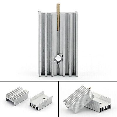 40pcs Heat Sink Cooler 15x10x25mm Radiator For Power Cpu Transistormosfetic Ua