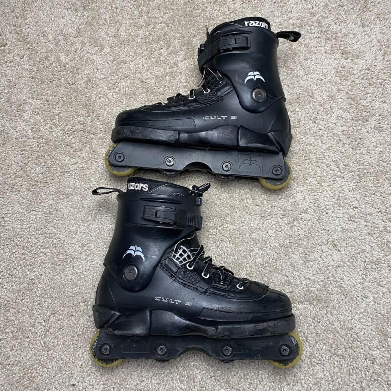 Razors CULT 9 Aggressive Rollerblades Inline Skates US Size 9 Wear/Tear