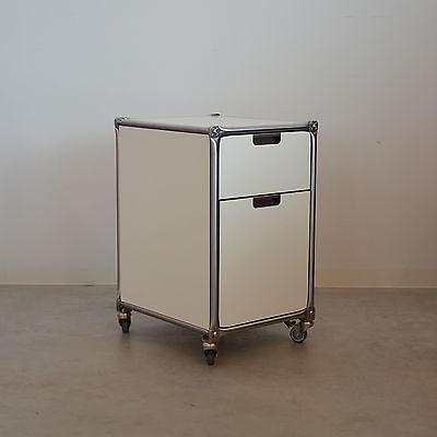 System 180 Rollcontainer 20857 weiß RAL 9016 Edelstahl online kaufen