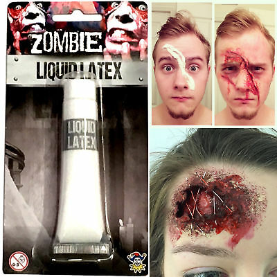 Halloween Latex Cosplay Adult Face Costume Full Head Scary Zombie Horror