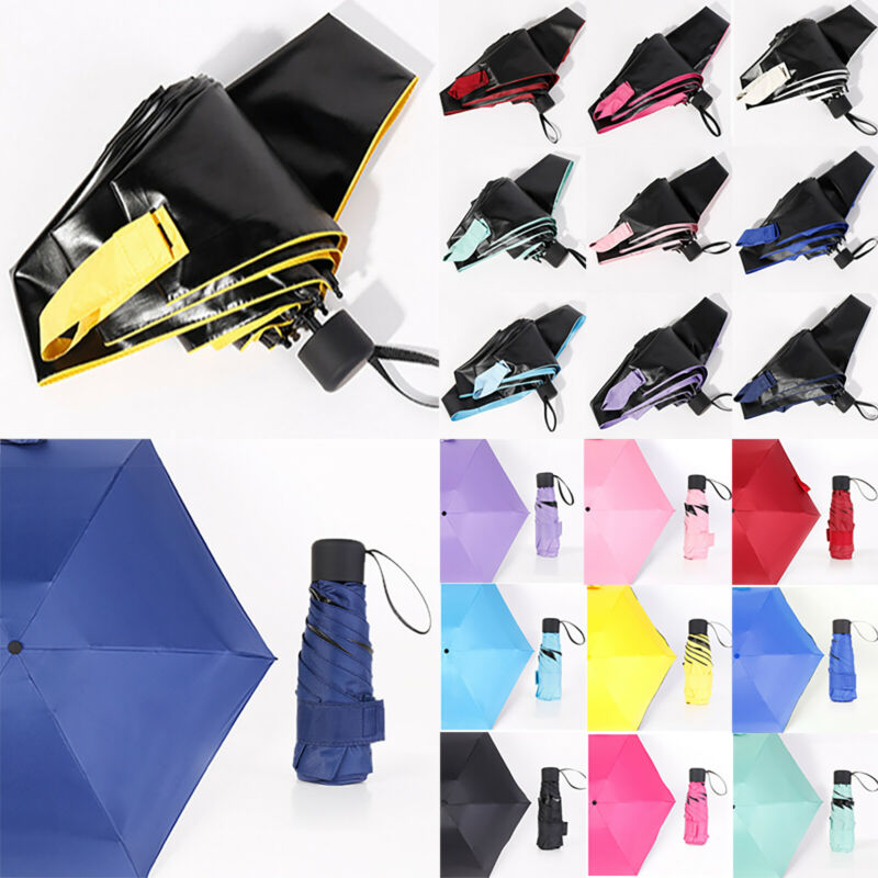 Folding Compact Pocket Mini Anti UV Rain Windproof Umbrella