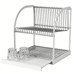new ikea dish rack drainer sink cutlery drying holder. Black Bedroom Furniture Sets. Home Design Ideas