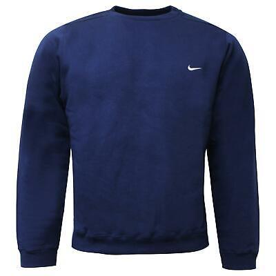 Nike Mens Sweatshirt Crew Jumper Training Top Navy 163539 451 XS