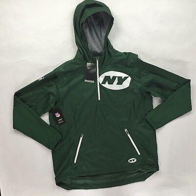 Nike NFL New York Jets Fly Rush Jacket Green White 837113-323 Men's S-XXL - Jets Flying