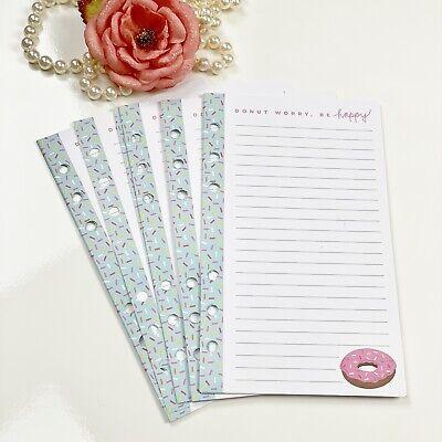 Fits Louis Vuitton Agendamm Refill Planner Organizer Paper Insert Pages