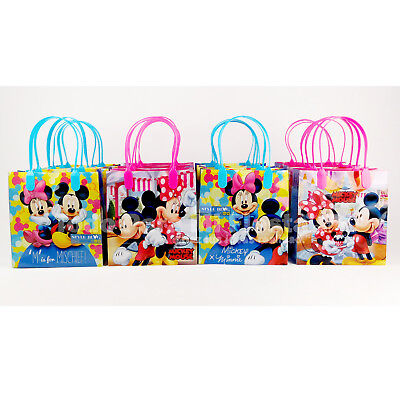Mickey Minnie Mouse Candy Loot Bags Goodie Bags Treat Boxes Mickey Party Favor12