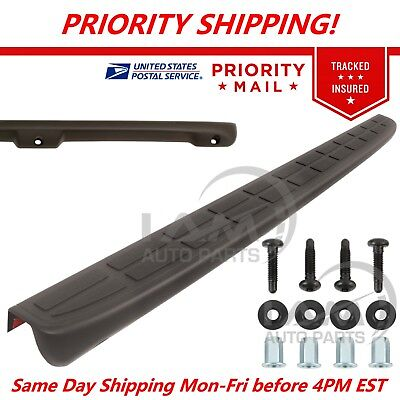 Tailgate Chevy - New Tailgate Spoiler Cap Molding Top Protector for 1999-2006 Silverado / Sierra