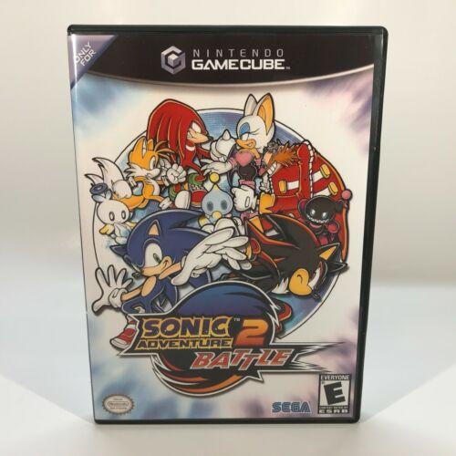 GameCube Reproduction Case - NO GAME - Sonic Adventure 2 Battle