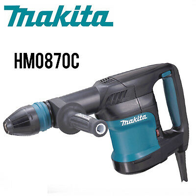 Makita Hm0870c 11 Lb. Demolition Hammer Accepts Sdsmax Bits Wfull Warranty