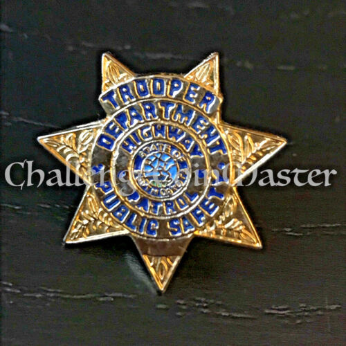 A3 SOUTH DAKOTA HIGHWAY PATROL Troooper lapel ppin
