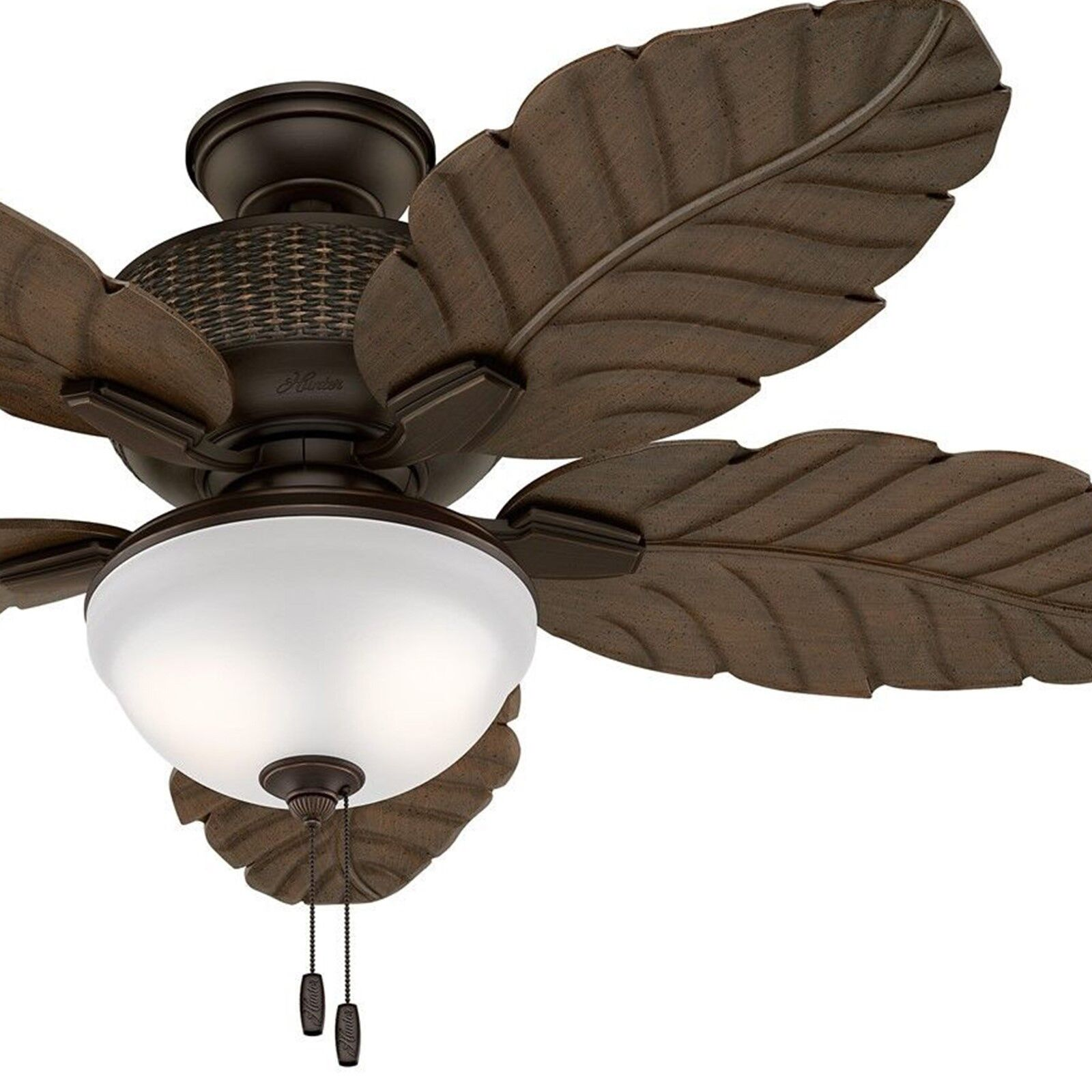 Hunter Fan 52 Quot Outdoor Ceiling Fan With Led Light Kit