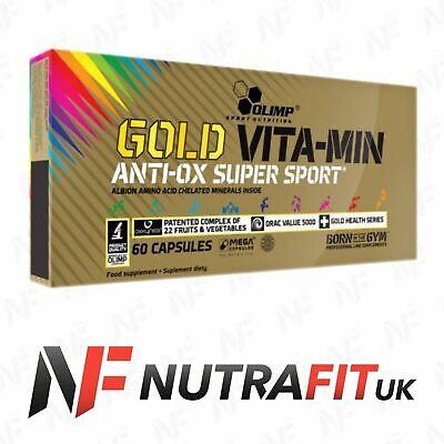 OLIMP GOLD VITA-MIN ANTI-OX SUPER SPORT multi vitamin mineral complex OXXYNEA