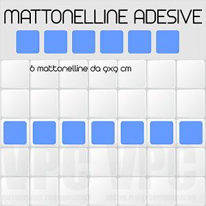 6 mattonelle adesive greche per piastrelle muri vetri for Mattonelle da muro