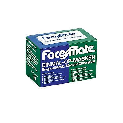 Unigloves Facemate medizinischer Mundschutz OP-Maske IIR EN 14683 Brillenträger