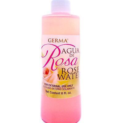 AGUA DE ROSAS Rose Water Flower Water Skin Face Facial toner Cleanser Piel Cara for sale  Miami