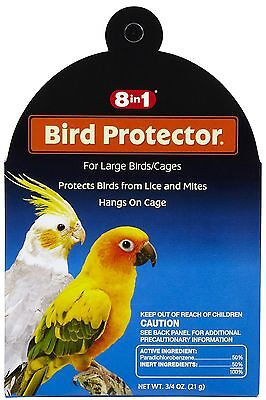 8IN1 BIRD PROTECTOR LARGE MITE & LICE 8 IN 1 WILD ALL BIRD. FREE SHIP TO THE USA