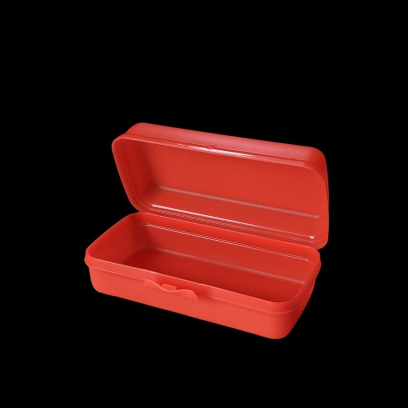 Tupperware Hoagie Sub Sandwich rectangle storage container Keeper New