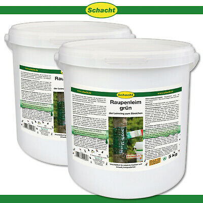 Schacht 2 x 5 KG Raupenleim Green Leimring Ants Control Fruit Tree Protection
