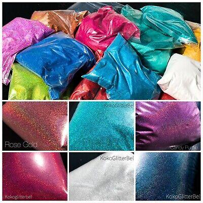 Glitter Bulk (Holographic Glitter | BULK | 1 Oz Cosmetic Grade .008 Ultrafine USA Nails)