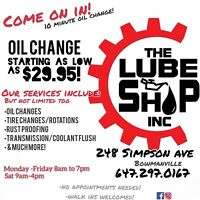 THE LUBE SHOP INC