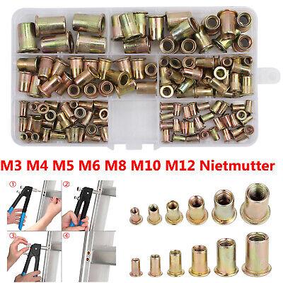 """TJM06 NEW Steel Blind Jack Nut Zinc Plated 0.91/"""" M6x23 - 25 Pcs"""