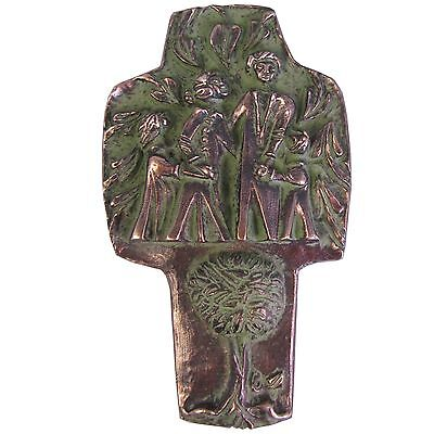 Bronzekreuz Familie Lebensbaum Haussegen  18 cm Bronze Cross Tree of Life