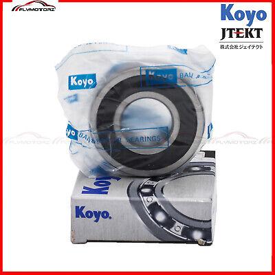 1 Pcs Koyo Jtekt 6204-2rs C3 Rubber Seals Ball Bearing Made In Japan 20x47x14mm