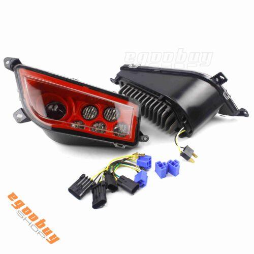 Red LED Headlights Front Lamp For Polaris General RZR XP 1000 ATV UTV RZR 900