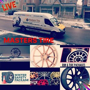 MASTERSTIRE#MOBILE TIRE SERVICE#6476438473#CALL FOR BEST QUOTES