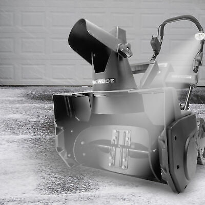 Snow Joe Cordless Single Stage Snow Blower | 18-Inch | 5 Ah Battery | Brushless ()