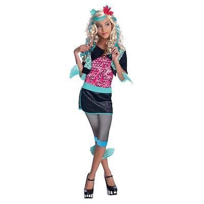 Rubies 884789 Lagoona Blue Kostüm Mädchen  Monster High Kostüm Größe M oder (Mädchen Kostüm Monster High)
