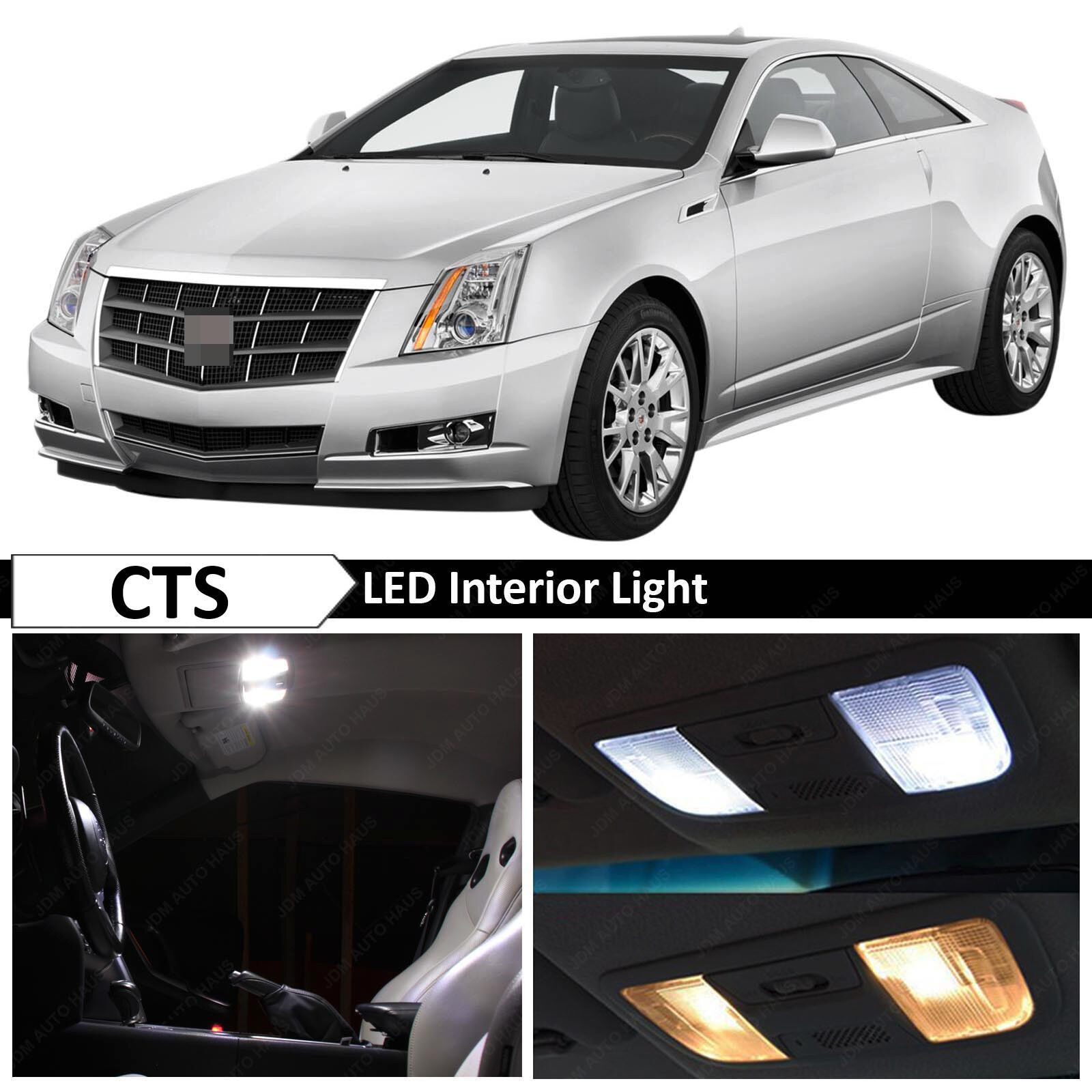 Cadillac Cts 2013 Price: 16x White Interior LED Lights Package Kit For 2008-2013 Cadillac CTS + TOOL