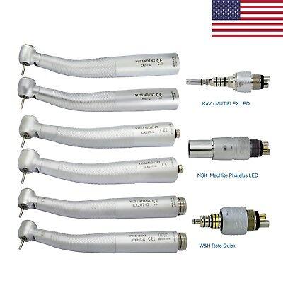 Coxo Dental Fiber Optic Handpiece Kavo Multiflex Nsk Phatelus Wh Rq Led Coupler