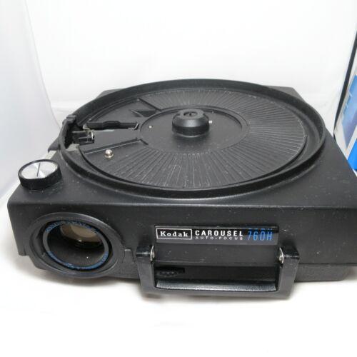 Vintage Kodak Carousel 760H Slide Projector w/ Remote WORKING