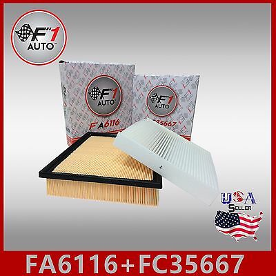 Fa6116 Fc35667 Premium Engine   Cabin Air Filter For 2014 2018 Toyota Highlander