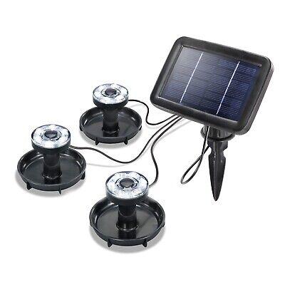 Proyectores A Energía Solar LED de Jardín 3 Faros Buzo Lámpara Fotovoltaica
