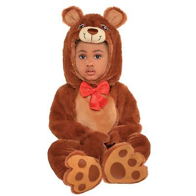 Baby Kleinkinder Kuschlig Braunbär Koda Wildes Tier Teddy Strampler Kostüm